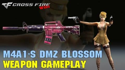 CrossFire - M4A1-S DMZ Blossom - Weapon Gameplay