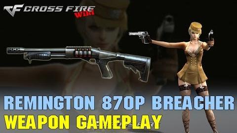 CrossFire - Remington 870p Breacher - Weapon Gameplay