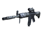 M4A1-S Bandage Render Sideview