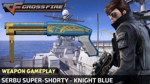 CrossFire - Serbu Super-Shorty - Knight Blue