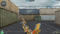 AK47 K BB NOBLE GOLD MELEE 3