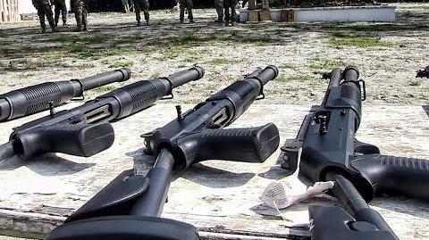 Benelli M4 Super 90 M1014 Shotgun Range • U.S. Marines