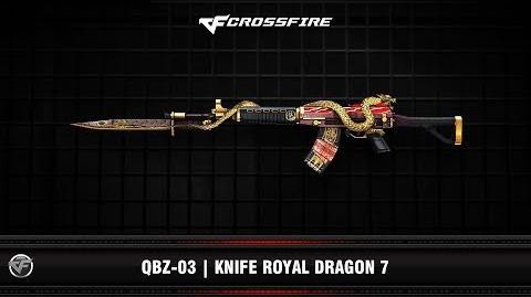 CF QBZ-03 Knife Royal Dragon 7