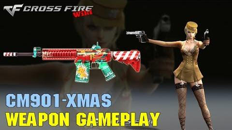 CrossFire - CM901 Xmas - Weapon Gameplay