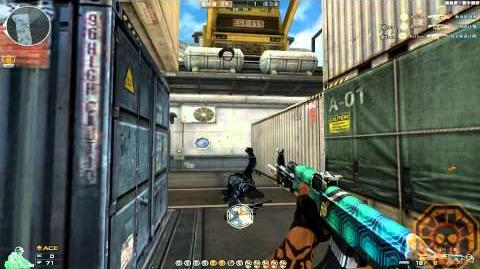 Cross Fire China -- AK-47 Knife Turtle Shell -GamePlay-!