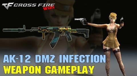 CrossFire - AK-12 DMZ Infection - Weapon Gameplay