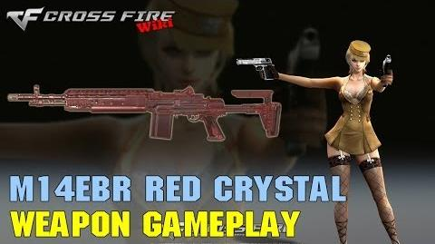 CrossFire - M14EBR Red Crystal - Weapon Gameplay