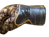 Gloves-Rusty Gold Skull