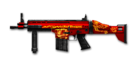 SCAR HEAVY-RED DRAGON BI