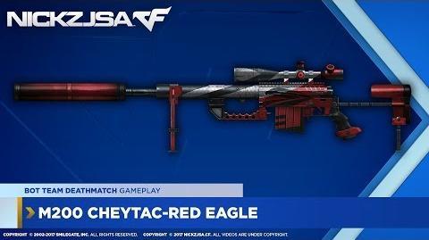 M200 CheyTac-Red Eagle CROSSFIRE North America 2.0
