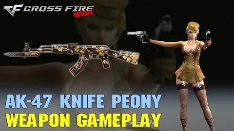 CrossFire - AK-47 Knife Peony - Weapon Gameplay