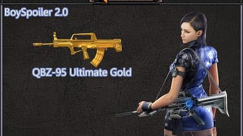 Crossfire Philippines - QBZ-95 Ultimate Gold