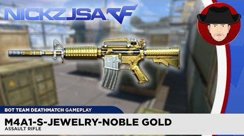 M4A1-S-Jewelry-Noble Gold - CROSSFIRE China 2