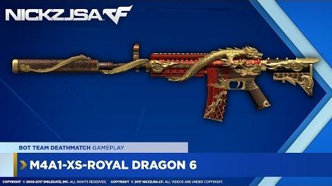 M4A1-XS-Royal Dragon 6 CROSSFIRE China 2