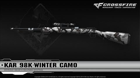 CrossFire China Kar 98K-Winter Camo