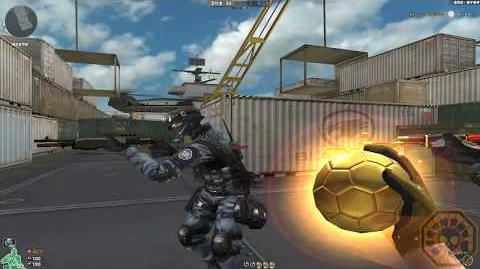 Cross Fire China Golden Soccer Ball !