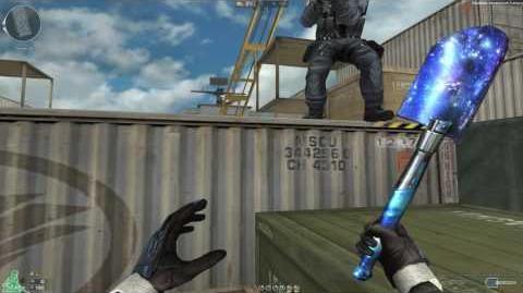Cross Fire Russia -- Field Shovel-Blue Diamond (Саперная лопатка Blue Diamond)!