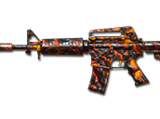M4A1-S Volcano