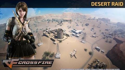 CrossFire Vietnam - Desert Raid Sand Storm (Battle Royale Top 1) Battle Royale Map Mode Gameplay