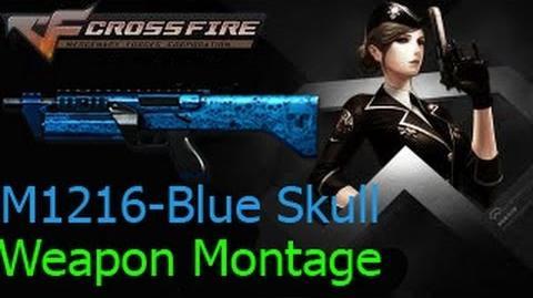 Crossfire Việt Nam M1216 - Blue Skull (Ghost Mode) ☆