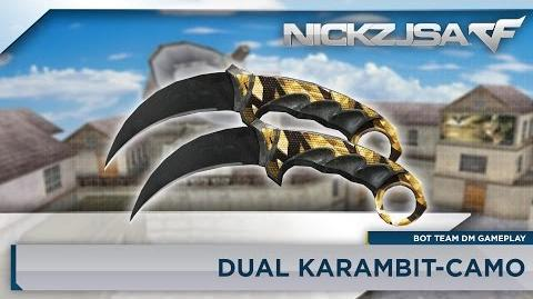 Dual Karambit-Camo CROSSFIRE China 2