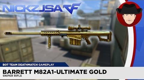 Barrett M82A1-Ultimate Gold - CROSSFIRE Vietnam 2