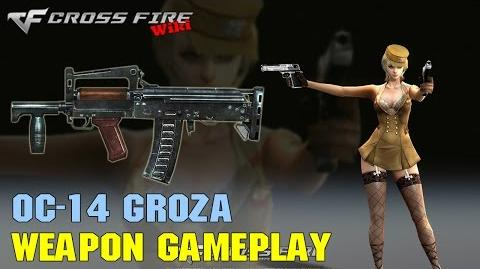 CrossFire - OC-14 Groza - Weapon Gameplay