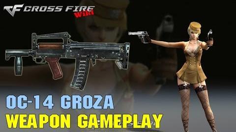CrossFire - OC-14 Groza - Weapon Gameplay