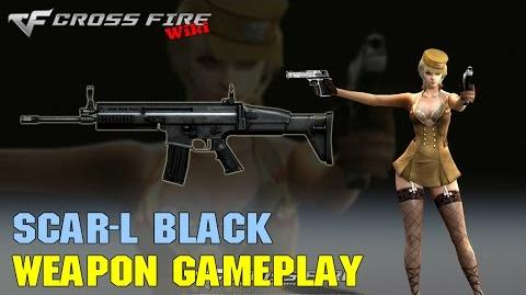 CrossFire - Scar-L Black - Weapon Gameplay