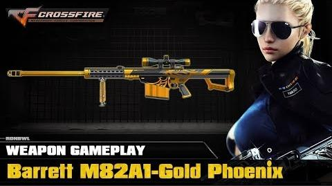 CrossFire VN - Barrett M82A1 Gold Phoenix