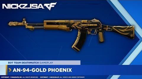 AN-94-Gold Phoenix CROSSFIRE China 2
