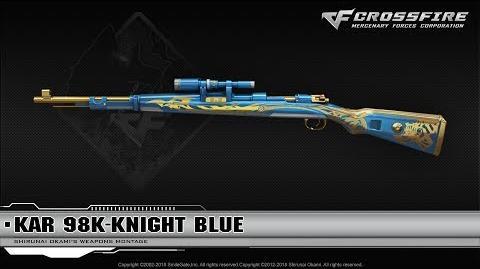 CrossFire Vienam Kar 98K-Knight Blue