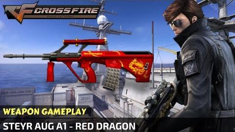 CrossFire Vietnam - Steyr AUG A1 - Red Dragon