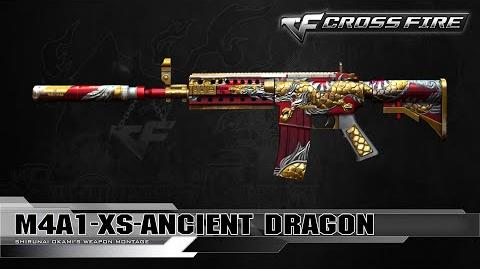 CrossFire Vietnam M4A1-XS-Ancient Dragon ☆
