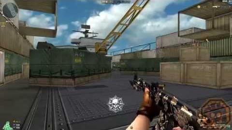Cross Fire China AK-47 Knife Peony GamePlay!