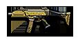 Scorpion EVO3A1-Gold Black (s)