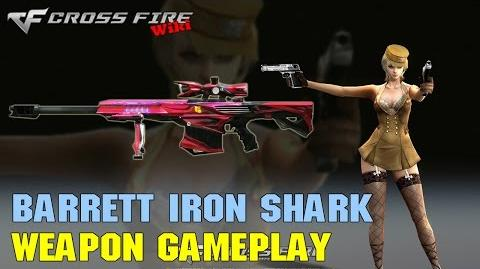 CrossFire - Barrett M82A1 Iron Shark - Weapon Gameplay