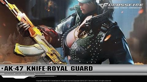 CrossFire Promotion AK-47-Knife Royal Guard (CG)