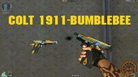 -CF News- Colt 1911-Bumblebee (Colt 1911-Mecabelha) CrossFire Brazil - GAMEMASSACRE