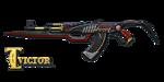AK47 RED KNIFE BEAST