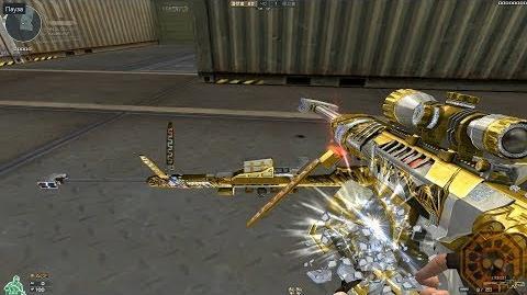 Cross Fire China Barrett M82A1-Born Beast Imperial Gold!