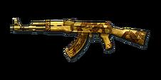 AK47 GOLD BLACK DRAGON