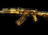 AK47-Gold Black Dragon