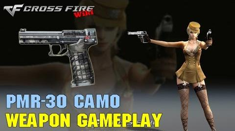 CrossFire - PMR-30 Camo - Weapon Gameplay