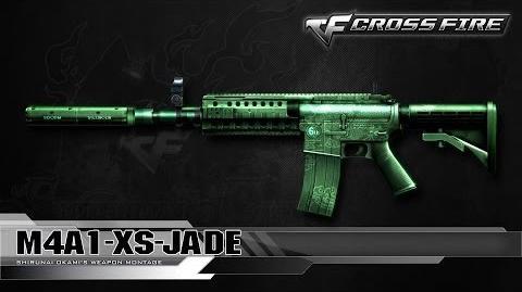 CrossFire China M4A1-XS-Jade ☆