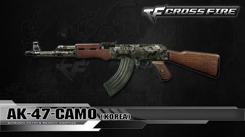 CrossFire Korea AK-47-Camo ☆