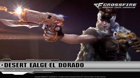 CrossFire Promotion Desert Eagle-El Dorado (CG)