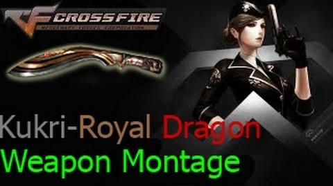 Crossfire VietNam Kukri - Royal Dragon ☆
