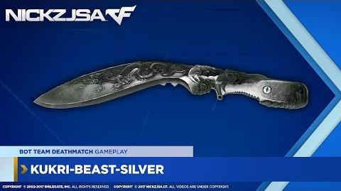Kukri-Beast-Silver CROSSFIRE China 2