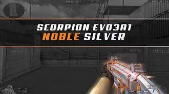 CFQQ Scorpion EVO3A1-Noble Silver